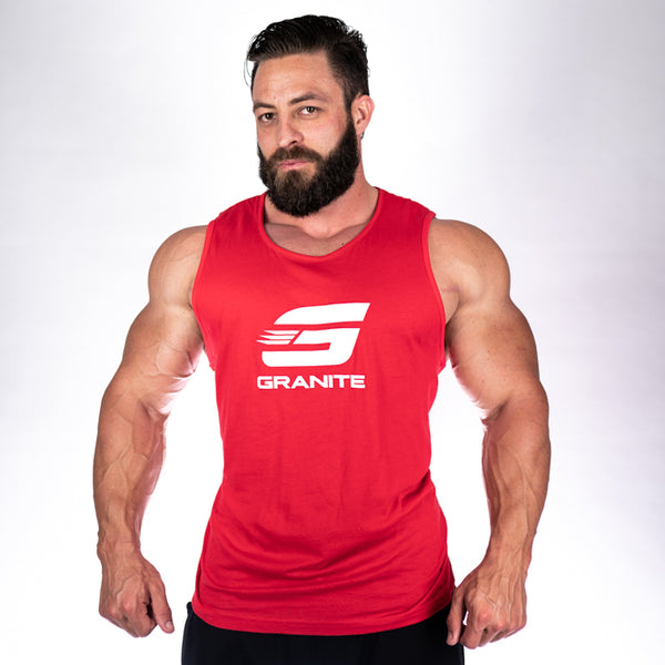 Men's Tank (Red or Black)