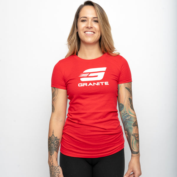 Women's T-Shirt (Red or Black)