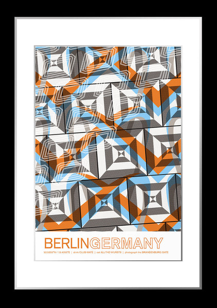 Berlin, Germany Travel Poster
