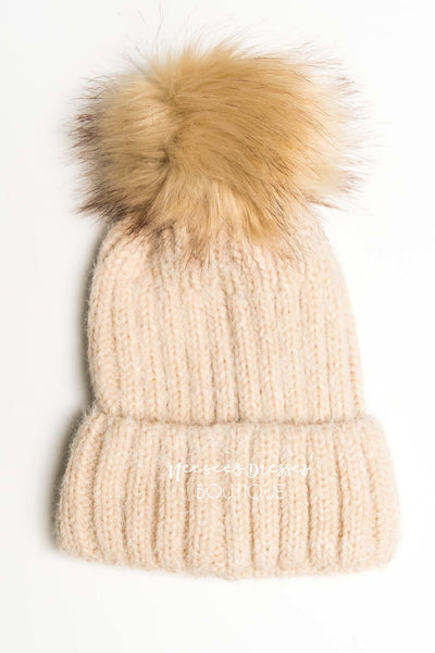 Sweet Home Pom Pom Beanie Accessories & Shoes Hana