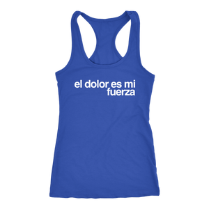 FUERZA - GYM Tank Top