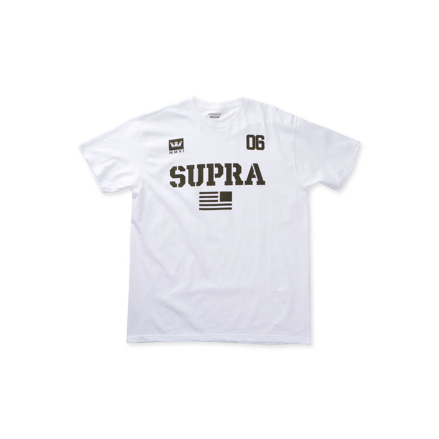 102104-111 | TEAM USA | WHITE/DARK OLIVE