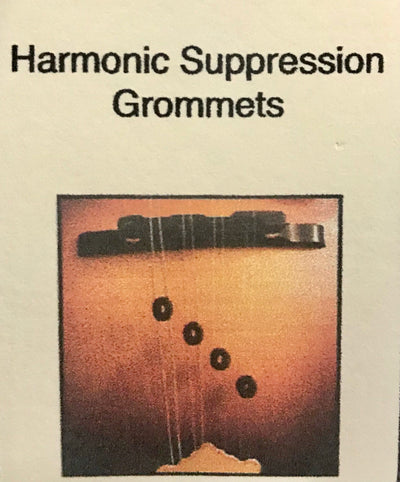 Cumberland Acoustic Harmonic Suppression Grommets for Mandolin - Pack of 6