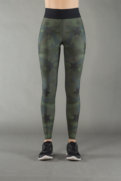 Ultra High Camo Army Green Legging