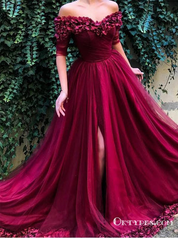 products/Off_the_shoulder_Half_Sleeves_A_Line_Tulle_Long_Prom_Dresses.jpg