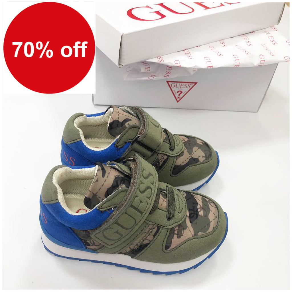 Guess Camo Trainers