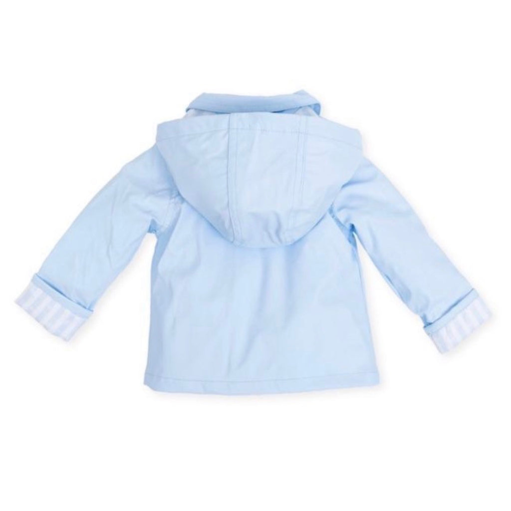 Tutto Piccolo Blue Raincoat