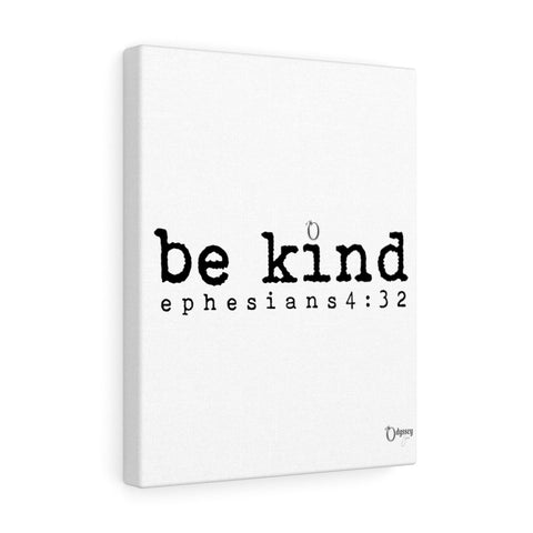 Odyssey Be Kind Canvas - White
