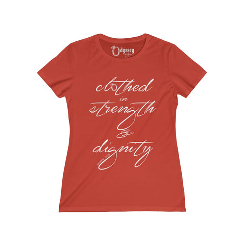 Odyssey Strength and Dignity Women's Tee - Dark