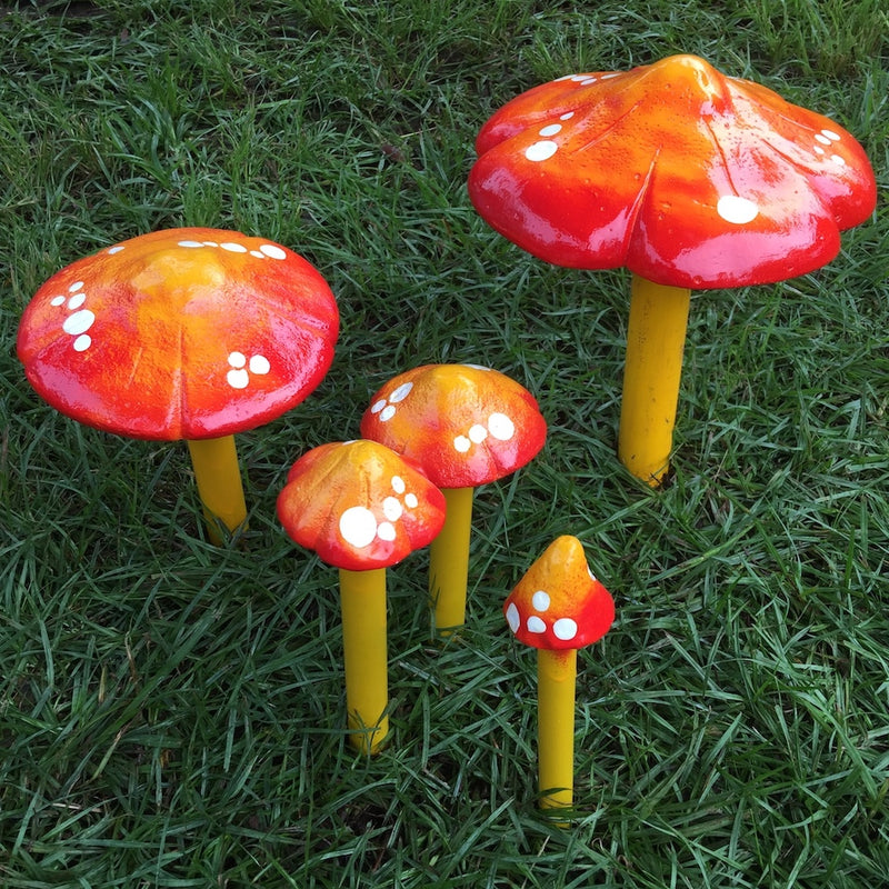 Mushroom Family Large - Set of 5 different sizes