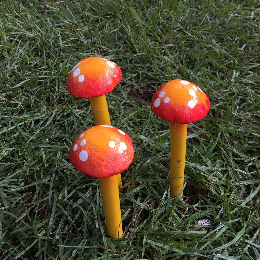 Small Mushroom - Set of 3