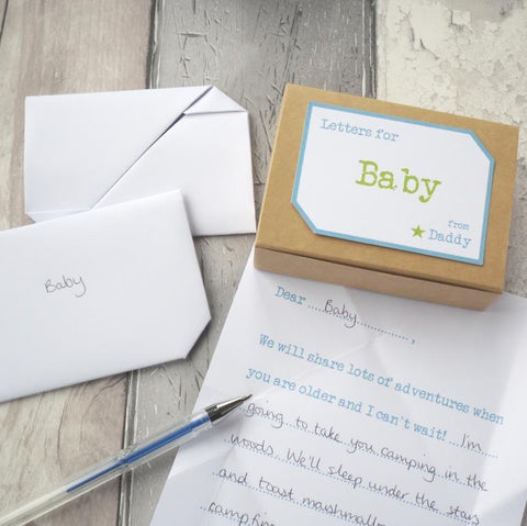 Dad To Be Gift Keepsake Letters