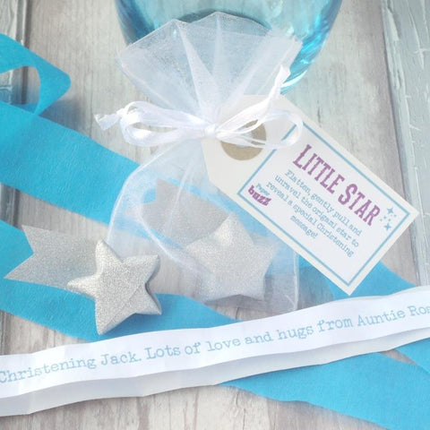 'Little Star' Personalised Christening Origami Star