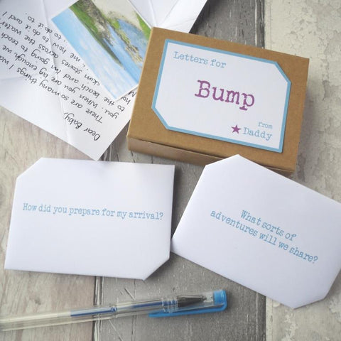 New Dad Gift Keepsake Letters