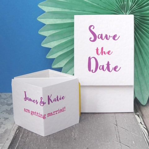 Simple Save the Date Sample