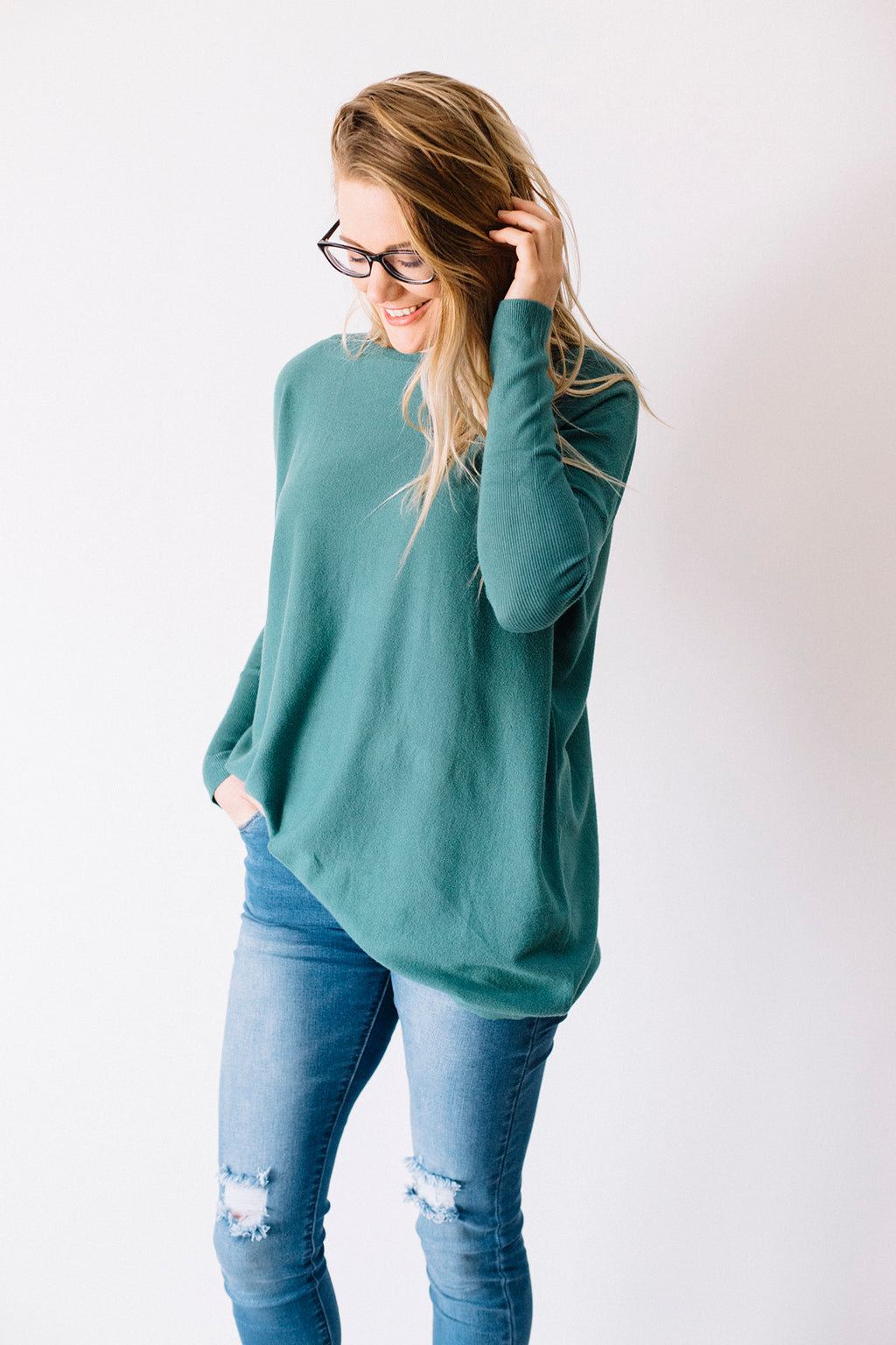 Demi Knit - Green
