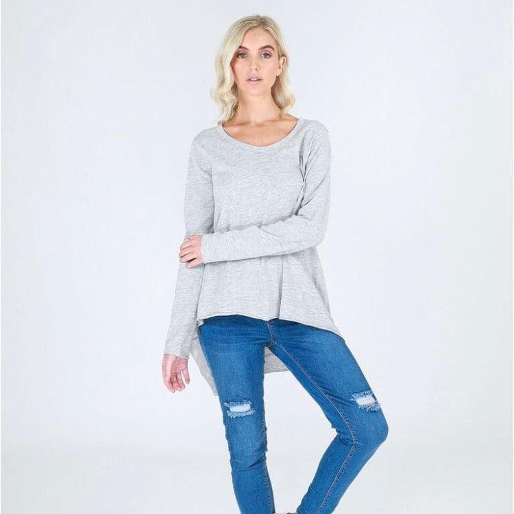 Willow Tee - Grey