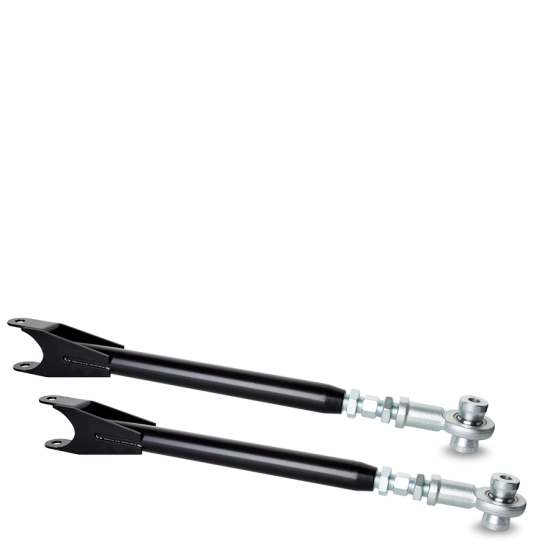 PMC Motorsport - REAR ADJUSTABLE CAMBER ARMS E36 / E46 UNIBALL (BACKORDERED ON BLACK COLOR)