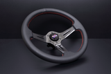 DND Performance Interior - Carbon Fiber Perforated Leather Race Wheel