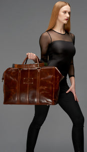 Sabrina Leather Travel Bag