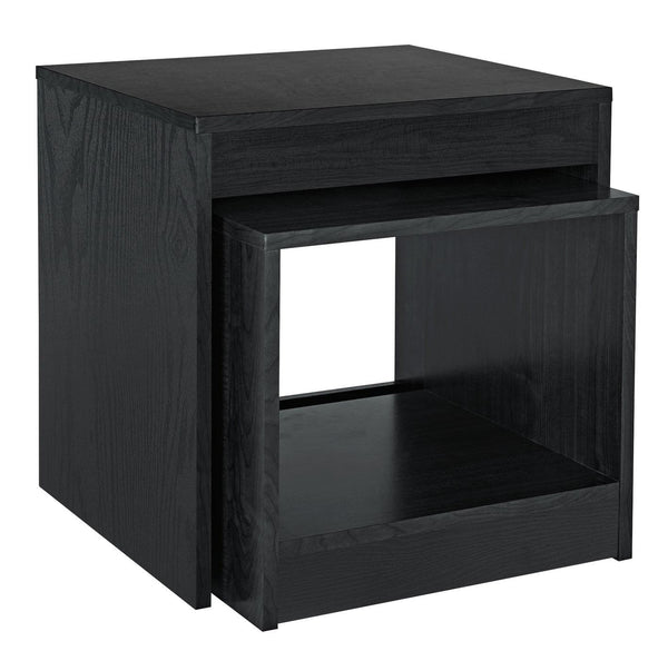 Magna 2 Piece of Nest of Tables - Black