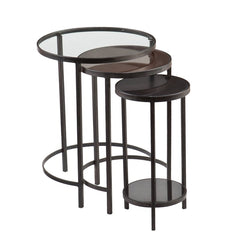Denver 3 Piece Nest of Tables