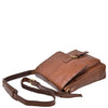 mens bag with a long shoulder strap
