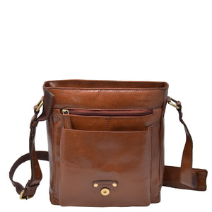 leather organiser satchel