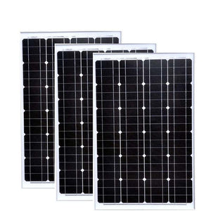 12v 60w Panneau Solaire 3 PCs Mobile Solar Panels 36v 180w Battery Camp Solar Charger Laptop  Car Caravan RV Motorhome
