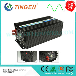 Pure Sine Wave Inverter 3000w 48V Input 110V Output Voltage TEP-3000w Off Grid 3000 Watt Pure Sine Wave