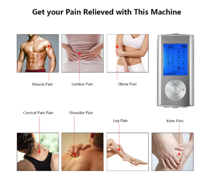 TENS Unit: Muscle Stimulator for Pain Relief