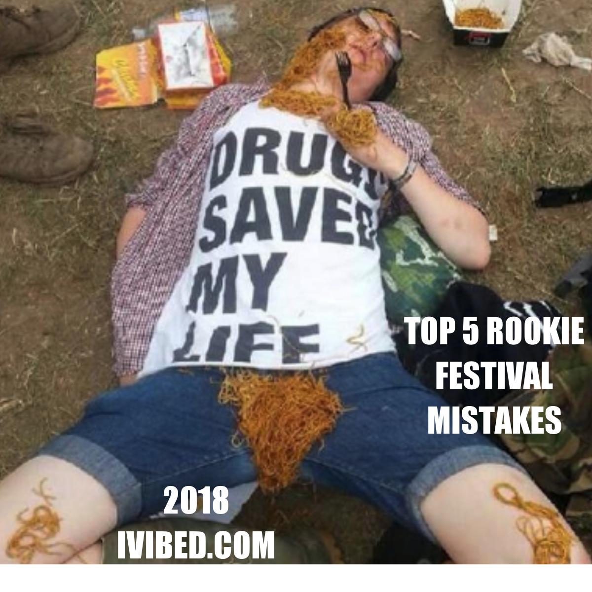 TOP 5 MISTAKES I MADE GETTING READY FOR MY FIRST ELECTRONIC MUSIC FESTIVAL