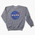 NASA Vector distressed Crew Sweatshirt