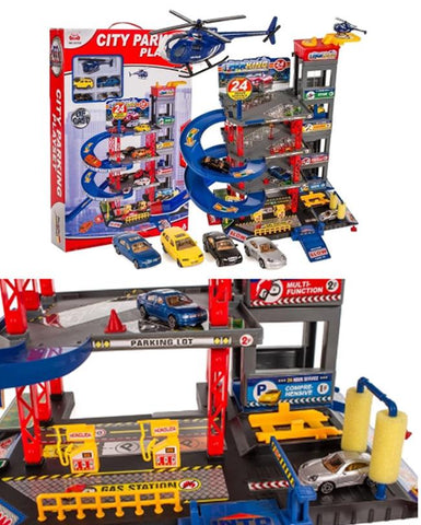 City Parking Luxury Play Set For Kids