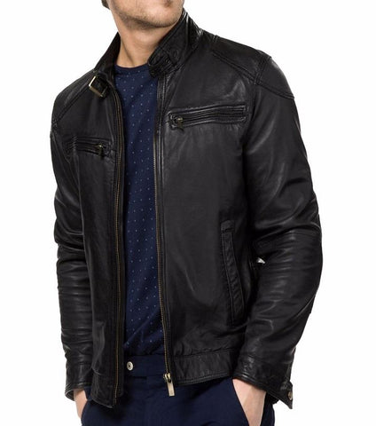 Black Sheep Leather Jacket For Men