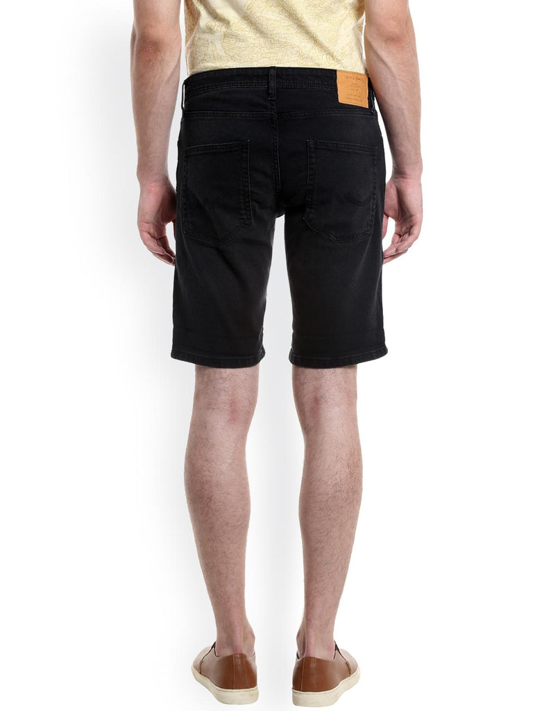 Black Denim Shorts For Men