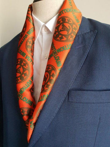 Orange LV Scarf