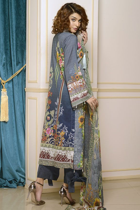 Motifz Digital Printed Lawn Unstitched 2230-Print-A