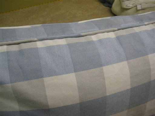 Boxed Bed Pillow Sham in My Fabric or Yours----Standard-Queen-King-Euro-----Boxed Style Pillow Sham with Self Cording Detail