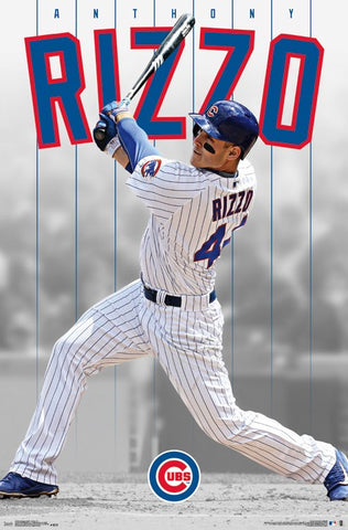 Chicago Cubs - Anthony Rizzo Wall Poster
