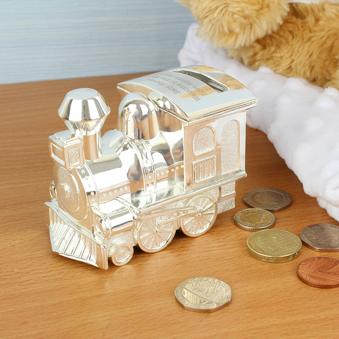 Piggy Bank Personalized Train