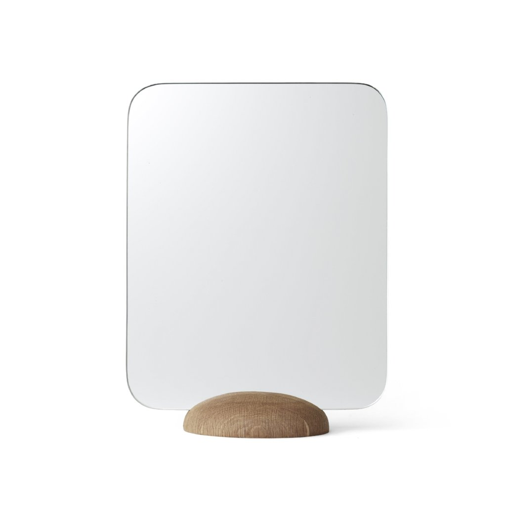 Gridy Me Mirror- Natural Oak
