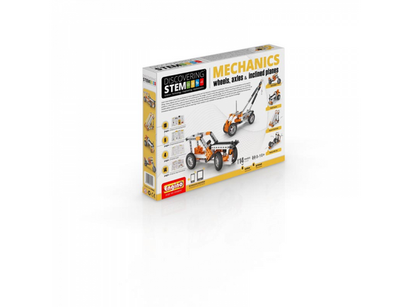 STEM MECHANICS: Wheels, axles & Inclined planes (Level 1)