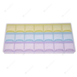 Drill Storage Box-21 Pack Bead Storage Box