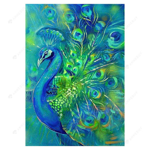 Diamond Painting-5D Full Drill Peafowl