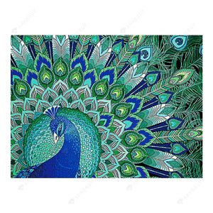 Diamond Painting-DIY Crystal Rhinestone Peafowls