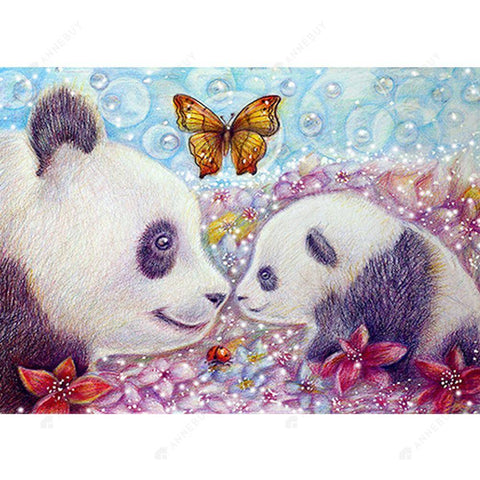 Diamond Painting-DIY Full Round Drill Panda