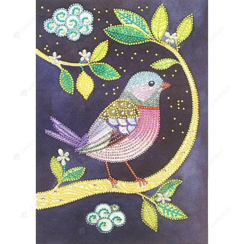 Diamond Painting-DIY Partial Crystal Rhinestones Bird