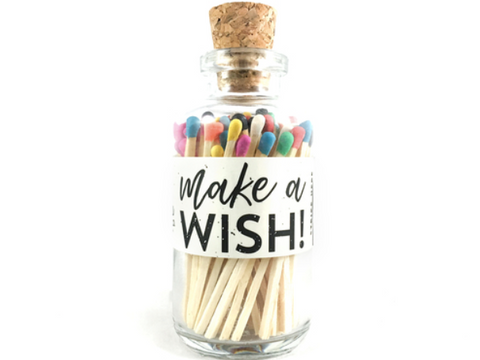 Vintage Apothecary Matches Mini - Happy Birthday Make a Wish
