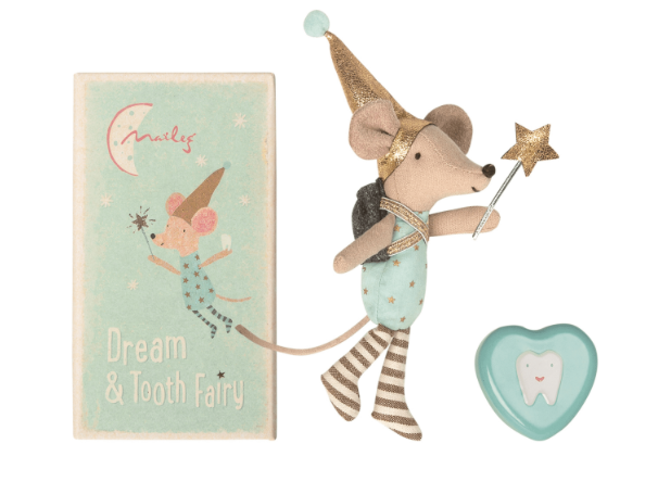 Maileg Tooth Fairy Mouse - Big Brother and Keepsake Tooth Box